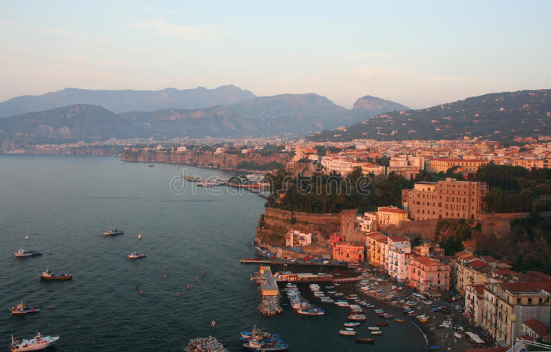 Италия sorrento стоковая фотография rf