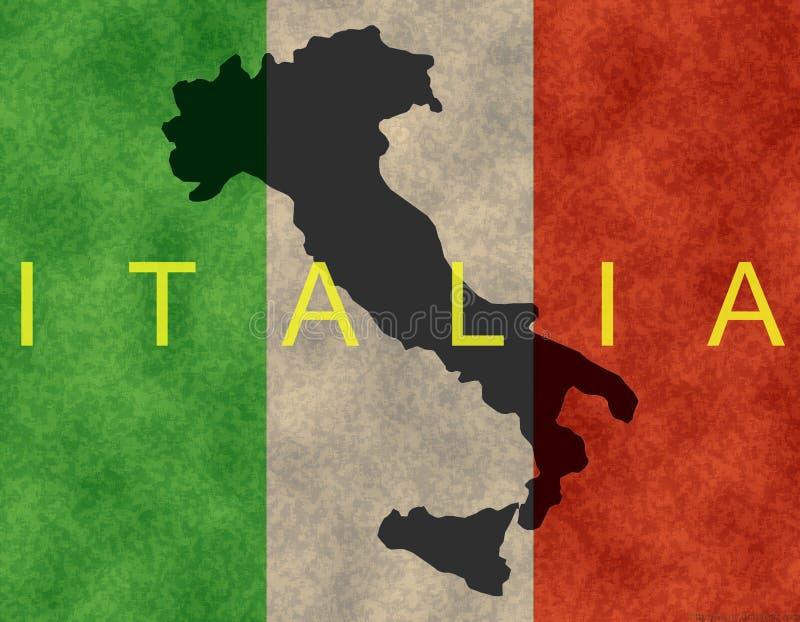 итальянка знамени бесплатная иллюстрация