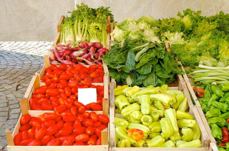 итальянские овощи стоковые изображения