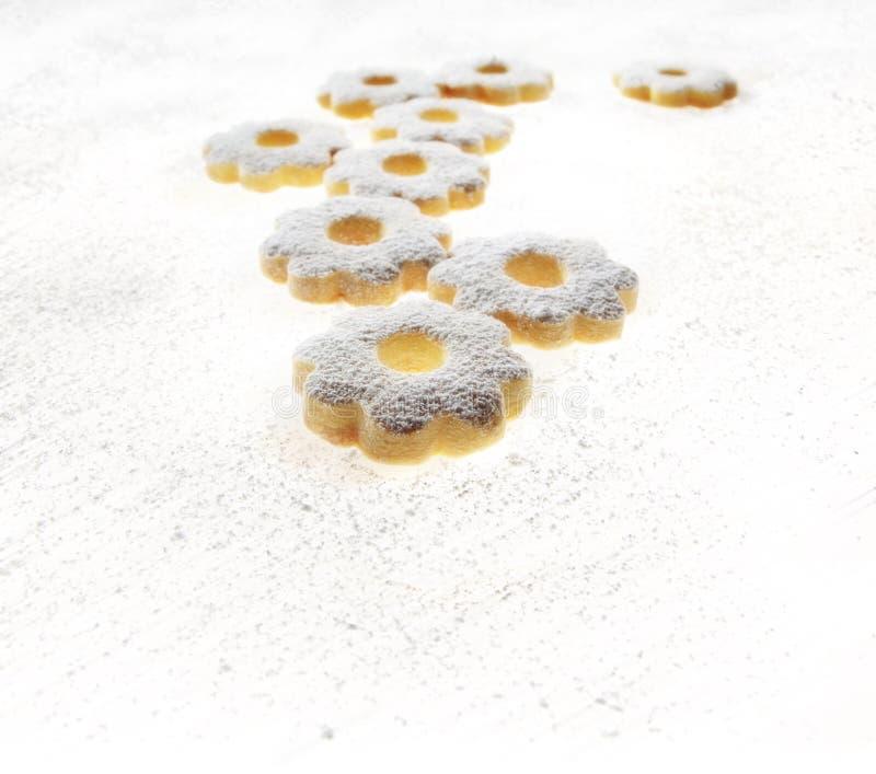 Итальянские печенья Canestrelli стоковое фото