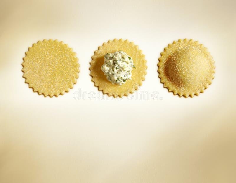 Итальянские свежие макаронные изделия стоковое изображение rf