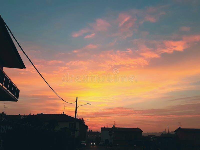 Итальянское небо стоковое изображение rf