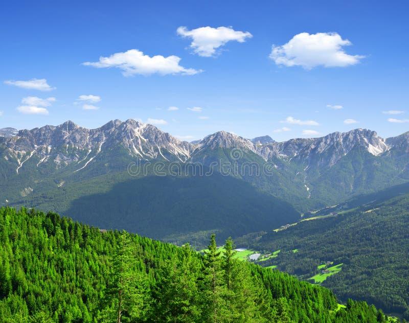 Италия Альпы стоковые изображения rf