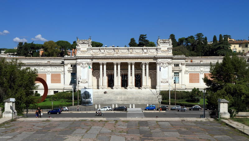 Италия, Рим: Национальная галерея современного искусства стоковые изображения rf