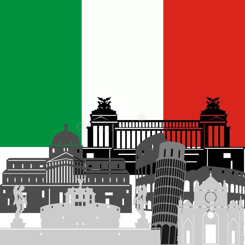 Италия иллюстрация штока
