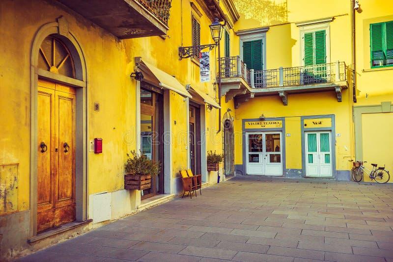Итальянская архитектура, Тоскана стоковая фотография