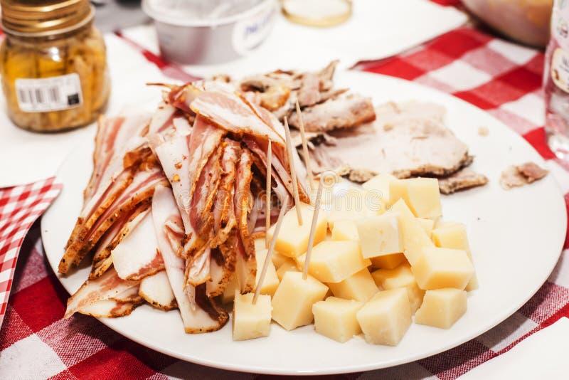 Итальянская закуска стоковое изображение rf