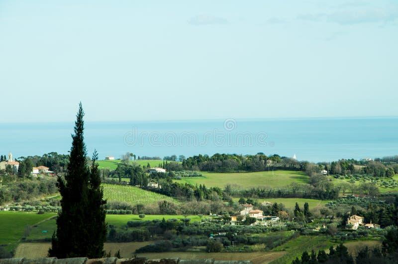 Итальянская сельская местность стоковое фото
