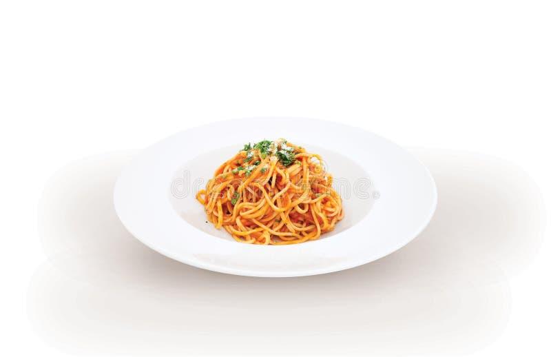 Итальянские спагетти bolognese макаронных изделий стоковые фото