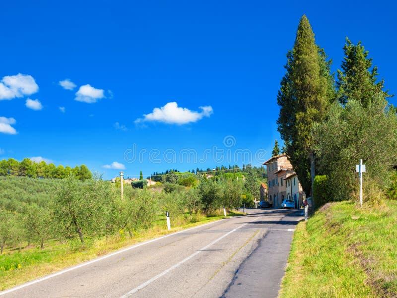 итальянский ландшафт сельский стоковое фото rf