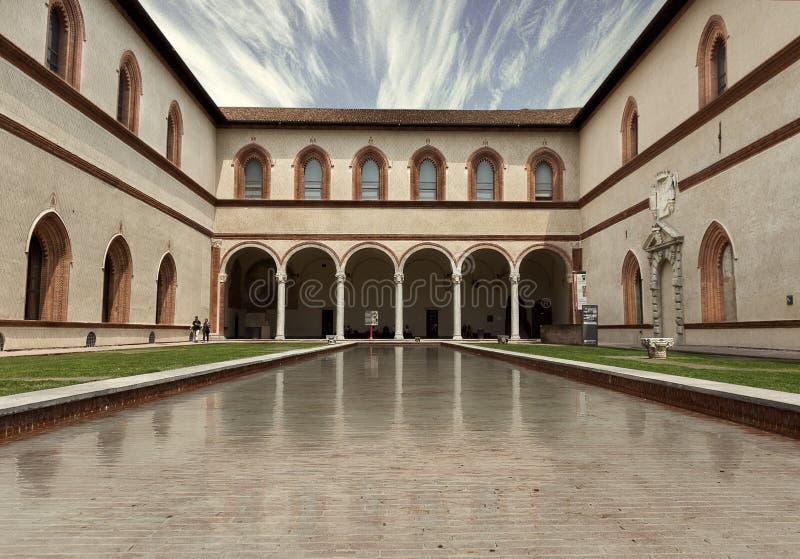 Итальянский дворец стоковое фото