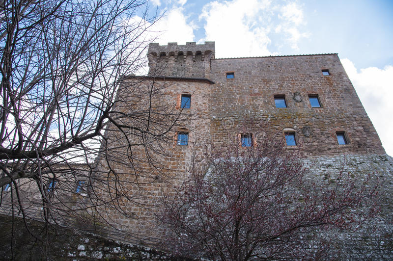 Итальянский старый замок стоковая фотография