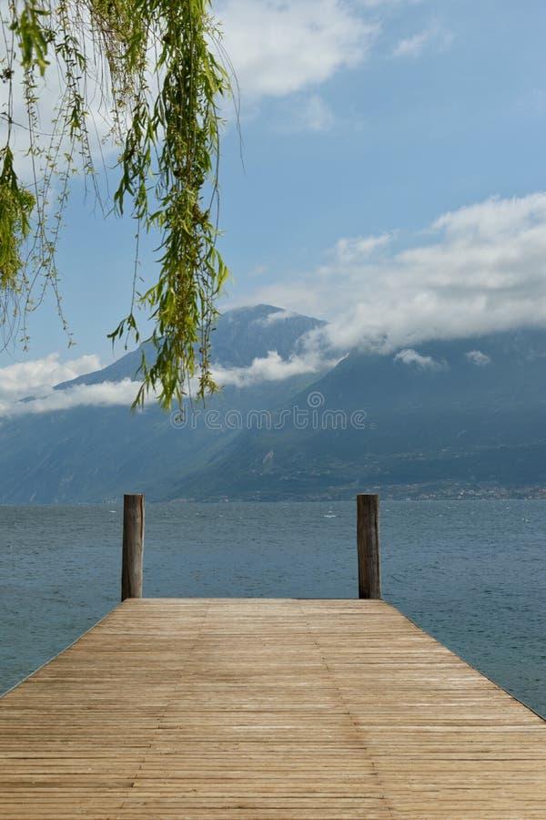 Итальянское озеро стоковое изображение rf