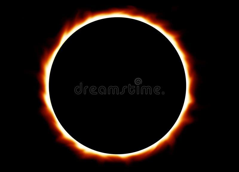 итог затмения стоковое изображение rf