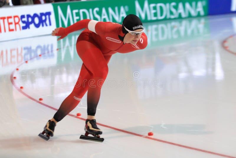 Ида Njatun - кататься на коньках скорости стоковое изображение rf