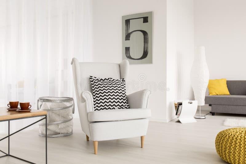 Идеал кресла, который нужно ослабить стоковое фото