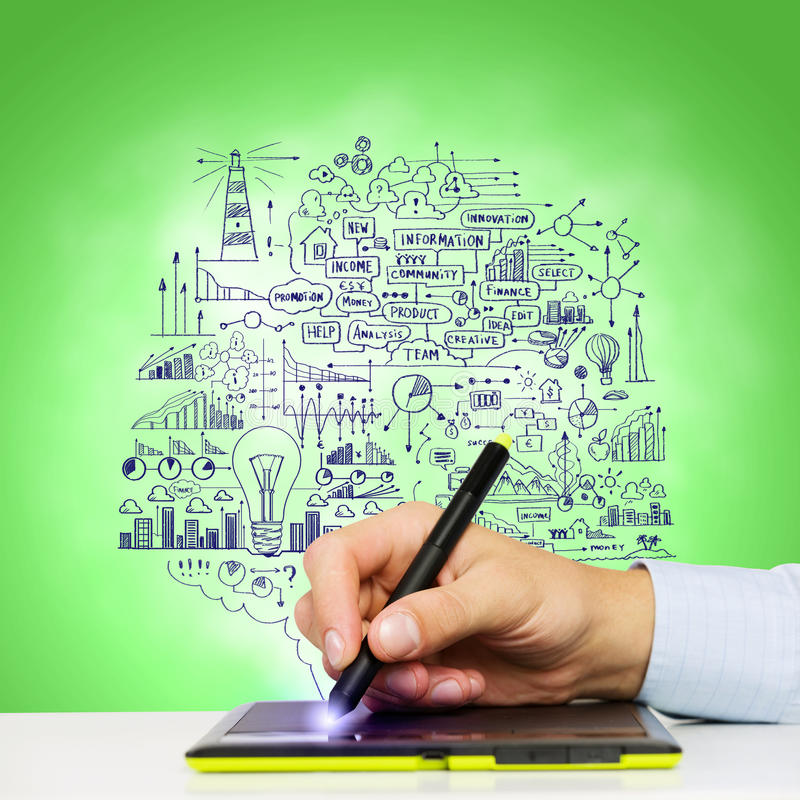 Download Идеи дела стоковое изображение. изображение насчитывающей creativity - 41650539