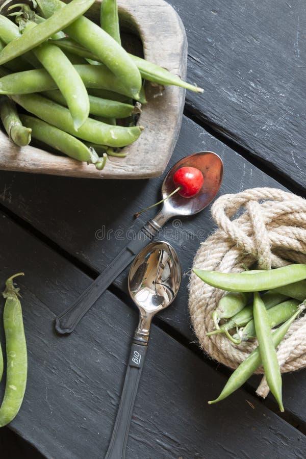 Идея био или натуральных продуктов, деревенская еда стоковое изображение rf
