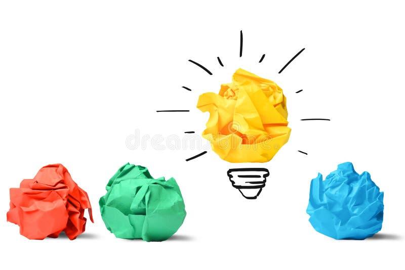 Идея и концепция нововведения стоковые фото