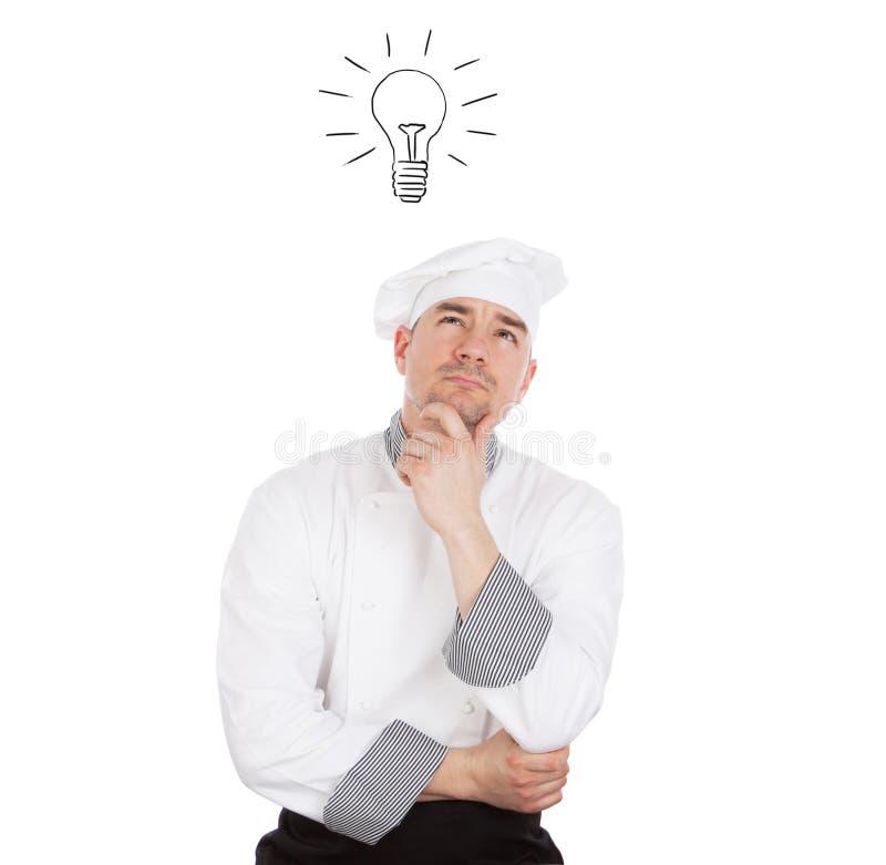 Идея шеф-повара стоковые изображения