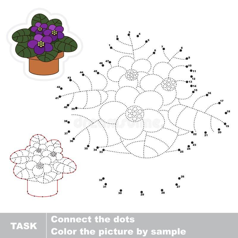 лилово Манипуляция цифрами вектора бесплатная иллюстрация