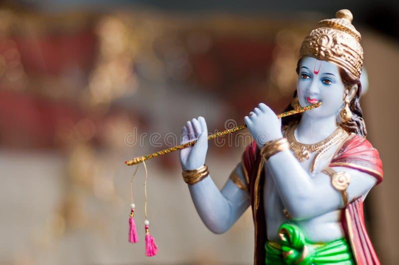Лорд Krishna стоковое изображение rf