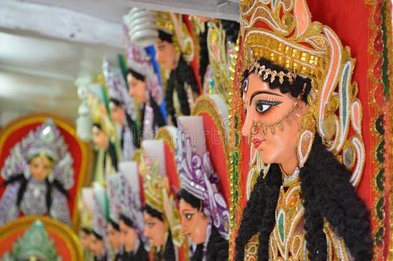 Идол Durga богини стоковое фото