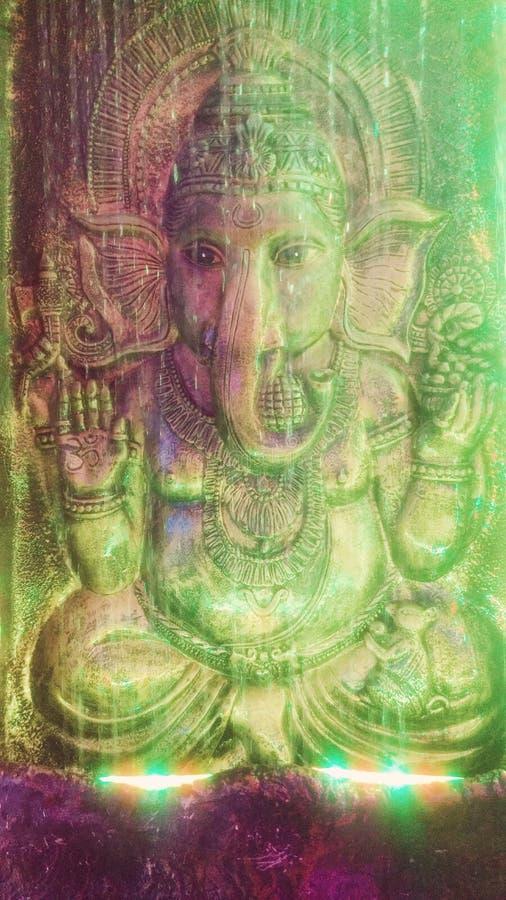 Идол Ganesha стоковое фото rf