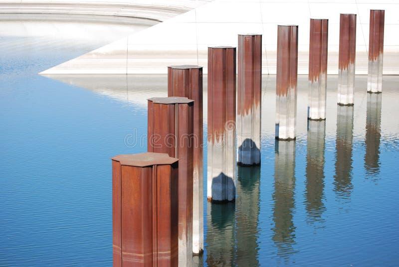 Идти над водой стоковые фотографии rf