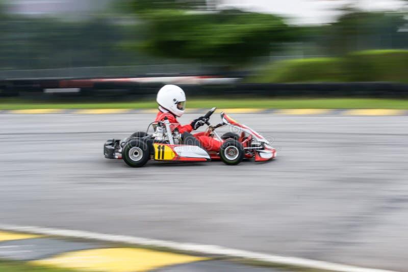 Идут спорт гонок kart стоковое фото rf