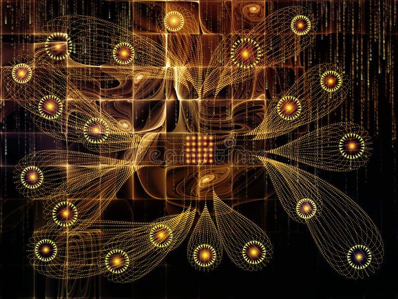 Download Иллюзии связей технологии иллюстрация штока. иллюстрации насчитывающей фракталь - 81803674