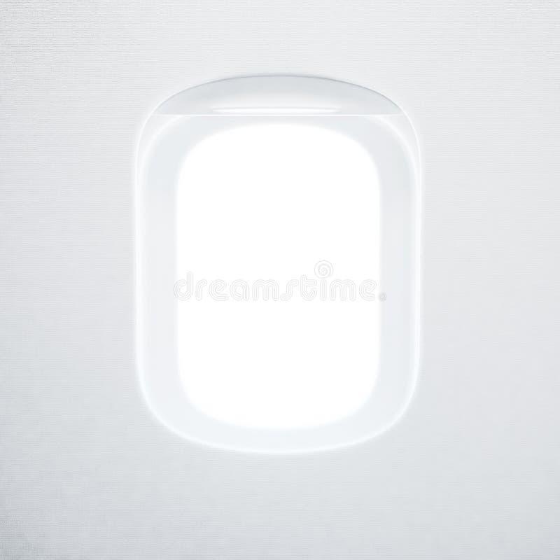 Иллюминатор самолета стоковые изображения rf
