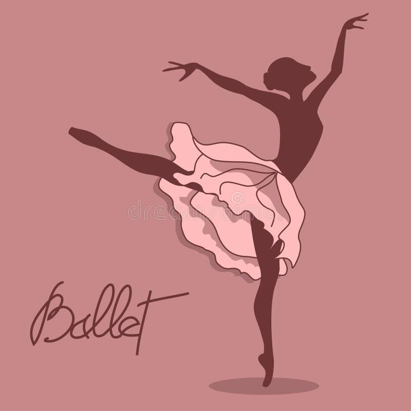 Иллюстрация артиста балета бесплатная иллюстрация