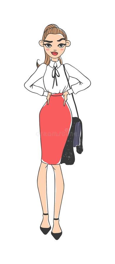 Иллюстрация вектора дамы дела бесплатная иллюстрация