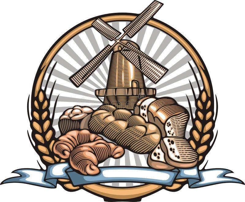 Download Иллюстрация вектора делать хлеба в стиле Woodcut Иллюстрация вектора - иллюстрации: 51375326