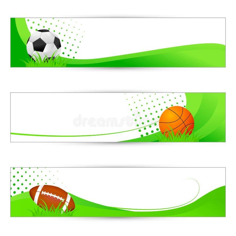 Знамя спортов бесплатная иллюстрация