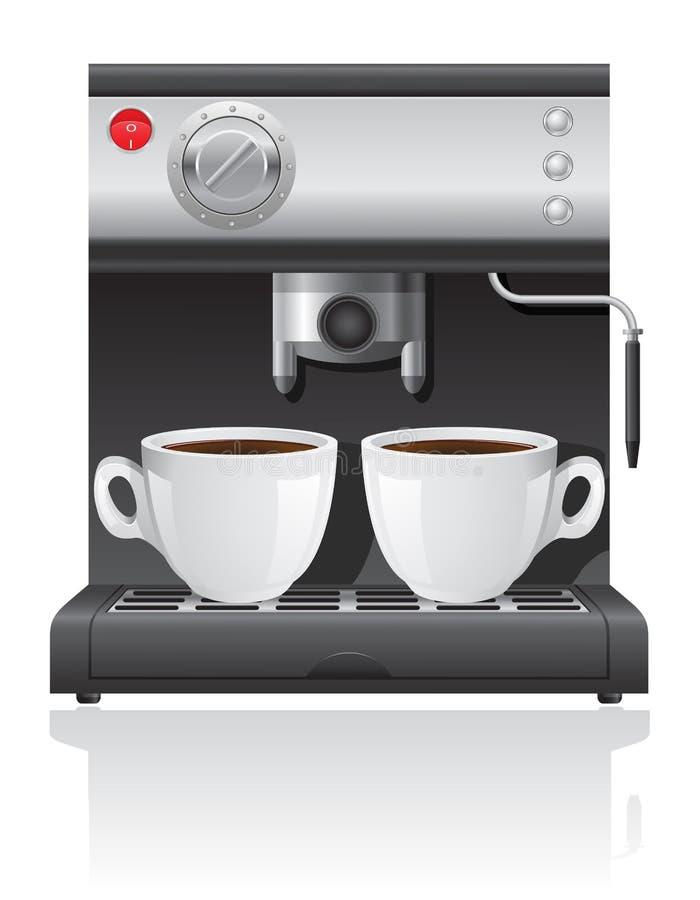 Иллюстрация вектора кофеварки иллюстрация вектора