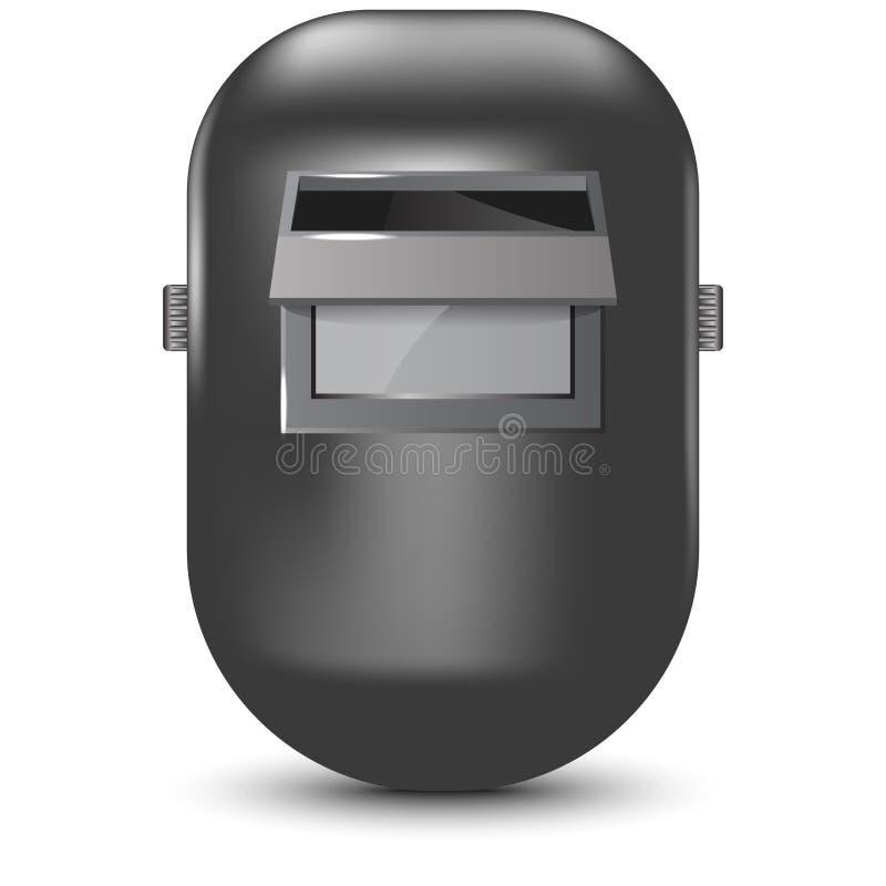 Иллюстрация вектора маски заварки стоковые изображения