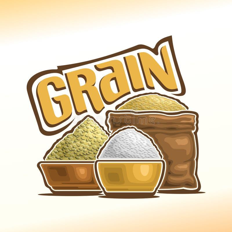 Иллюстрация вектора на теме зерна иллюстрация штока