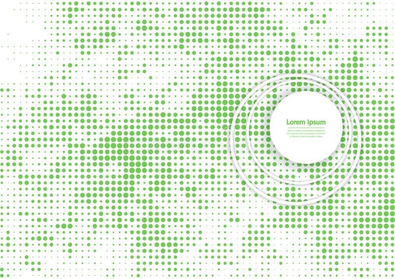 Иллюстрация вектора с картиной полутонового изображения Предпосылка вектора зеленого цвета bstract  Ð иллюстрация вектора
