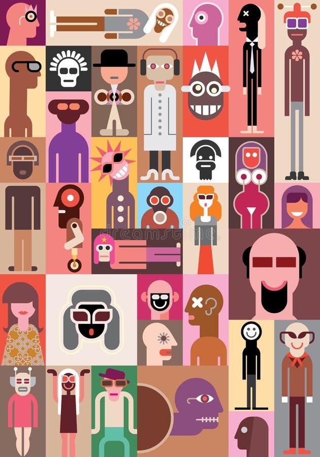 Иллюстрация вектора людей бесплатная иллюстрация