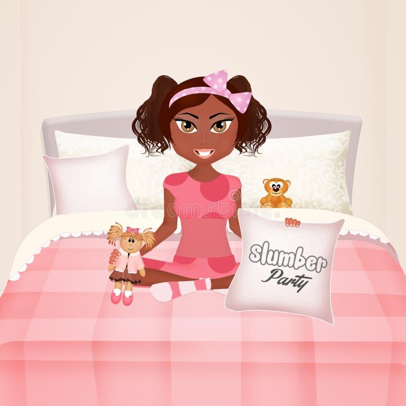 Иллюстрация девичника иллюстрация штока