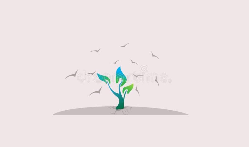 Иллюстрация дерева ` s надежды стоковое фото