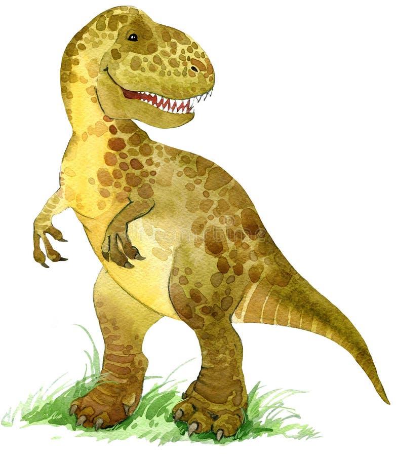 Иллюстрация животного динозавра иллюстрация вектора
