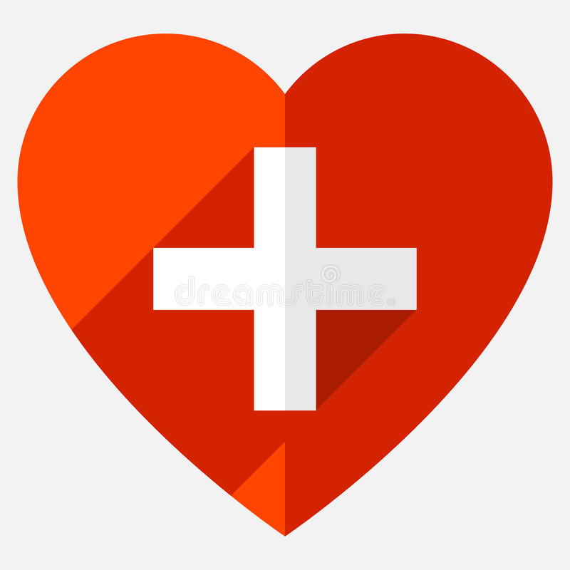 Download Иллюстрация запаса с мотивом сердца, формой сердца Иллюстрация вектора - иллюстрации насчитывающей логос, фармация: 81802007