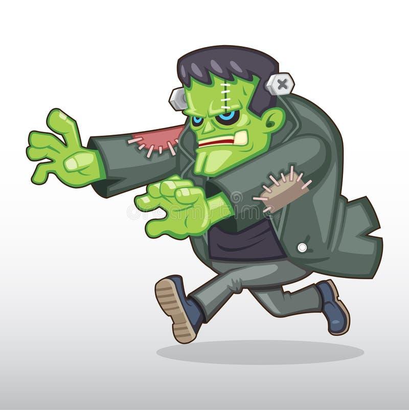 Иллюстрация изверга Frankenstein иллюстрация штока