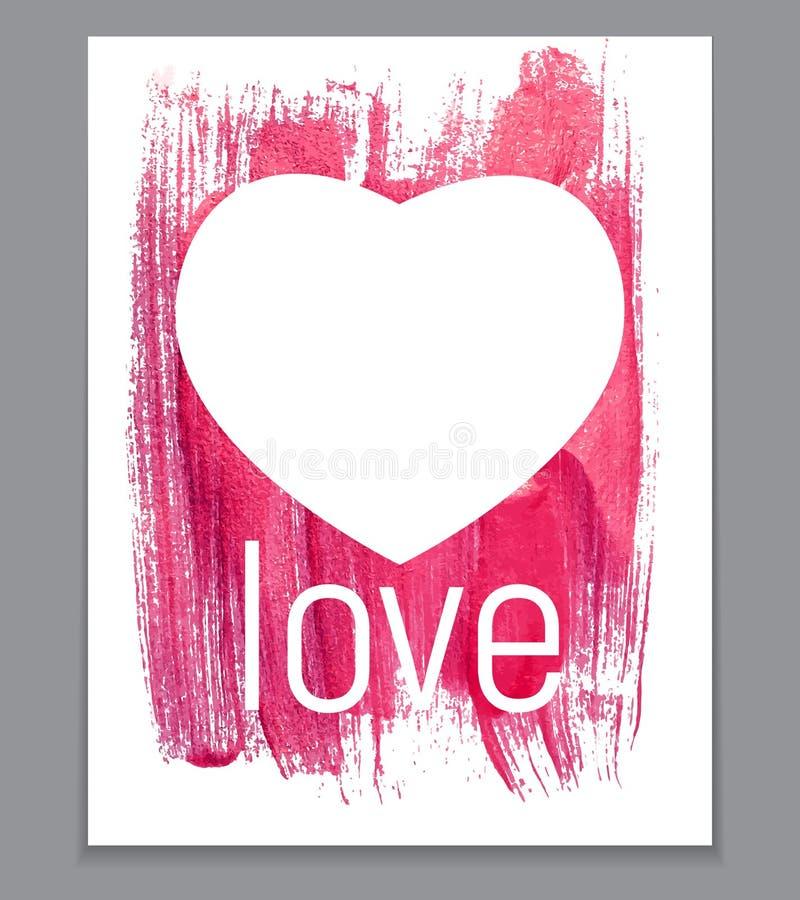 Иллюстрация искусства сердца краски золота блестящая текстурированная Вектор il иллюстрация штока