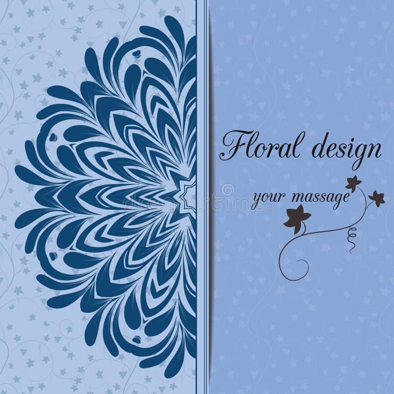 Download иллюстрация конструкции карточки флористическая ваша Иллюстрация вектора - иллюстрации насчитывающей сторонника, флористическо: 41658249