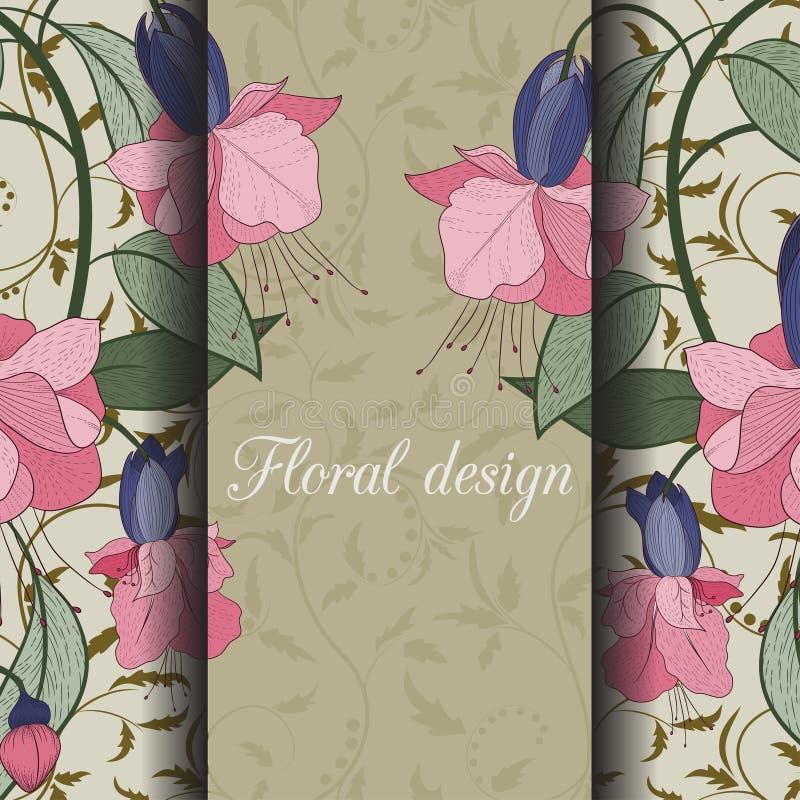 Download иллюстрация конструкции карточки флористическая ваша Иллюстрация вектора - иллюстрации насчитывающей флористическо, конструкция: 41660907