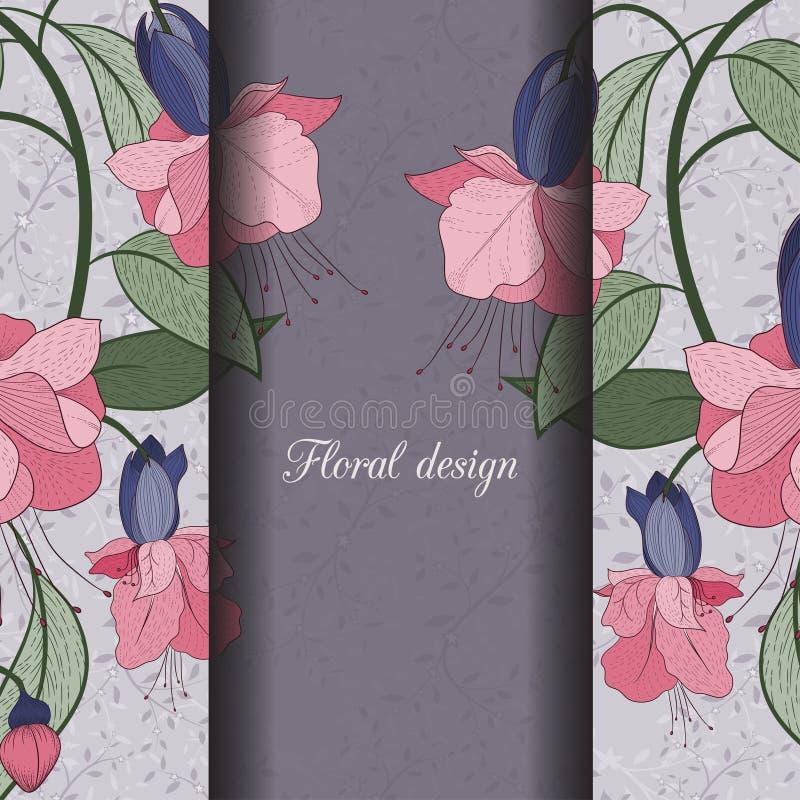 Download иллюстрация конструкции карточки флористическая ваша Иллюстрация вектора - иллюстрации насчитывающей график, приветствие: 41660943